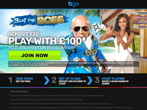 Review of Bgo Casino (www.bgo.com) for Australian's